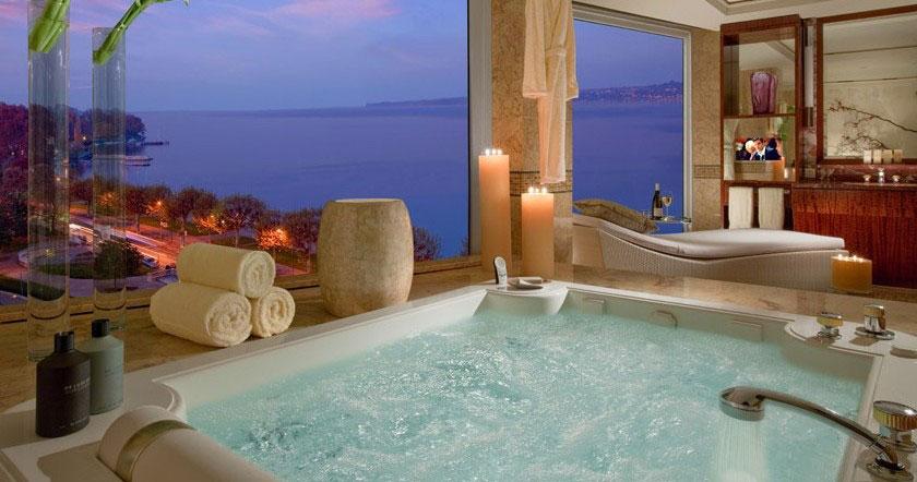 10 مورد از گرانترین اتاق هتل های جهان