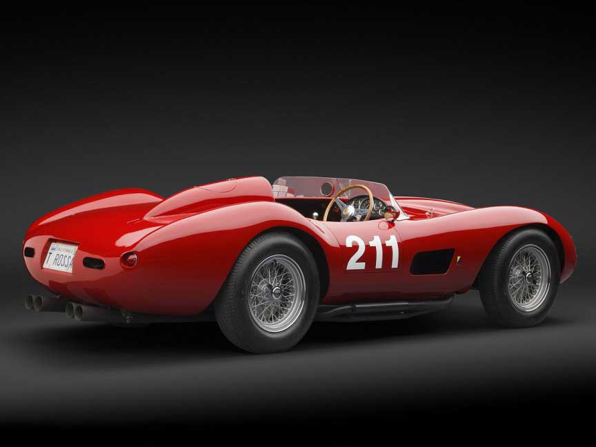 1957 Ferrari 625 نادرترین و گران قیمت ترین مدلهای کلاسیک فراری در جهان