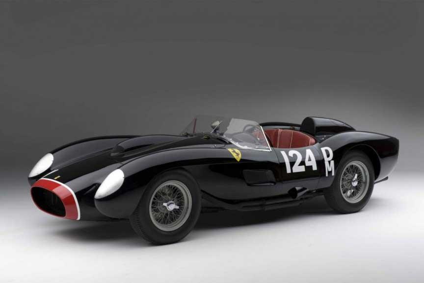 1957.ferrari.250.testarossa نادرترین و گران قیمت ترین مدلهای کلاسیک فراری در جهان