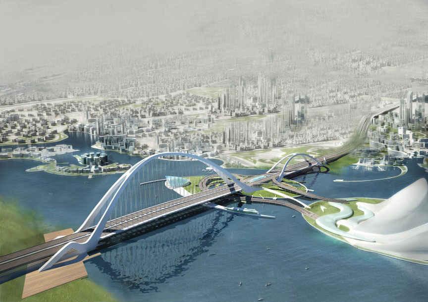 پل تقاطع شیخ رشید بن سعید