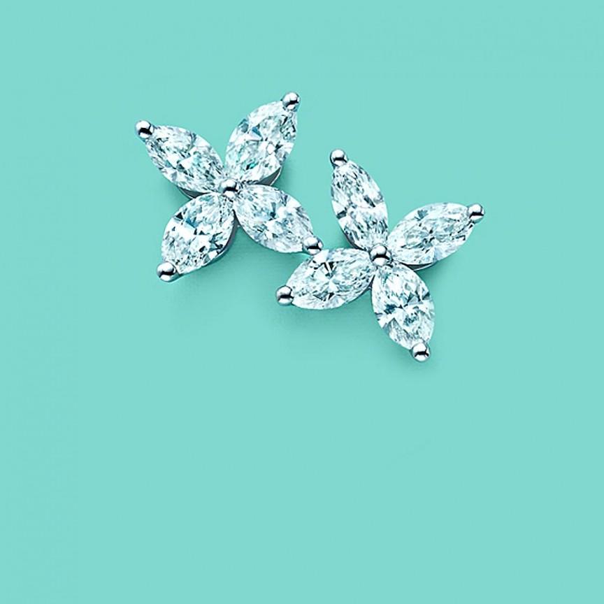 Tiffany victoria 2x2 ۱۰ برند از معروف ترین و لوکس ترین جواهرات